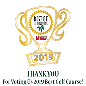2018 Voted Best Golf Course of St. Augustine
